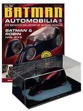 DC BATMAN AUTOMOBILIA FIGURINE WITH MAGAZINE #35 BATMAN & ROBIN #5 #saug16-17