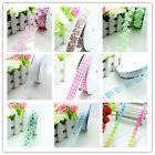 5Yards/20Yards Wedding Multi-Color Printed Handcraft Ribbon Hair Bow DIY Sewing