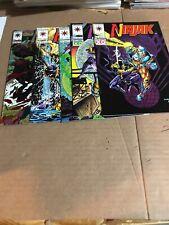 Ninjak Comic Lot 1-3 5,6