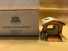 "Heritage Village ""Covered Wooden Bridge"" Accessories"