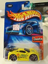 Hot Wheels Ferrari Tooned 360 Modena #007 2004 First Editions Yellow