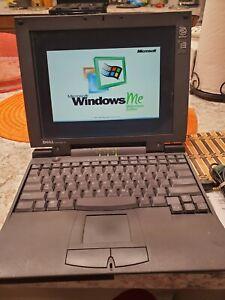VINTAGE DELL LATITUDE CPi D266XT PPL LAPTOP P II 64MB RAM 5GB HD WINDOWS Me Rare
