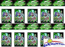 Lot of (10) Yugioh ZEXAL 50ct CARD SLEEVES DECK PROTECTORS ( Total 500 Sleeves)