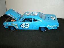 #43 RICHARD PETTY 1970 PETTY BLUE SHORT TRACK  PLYMOUTH 1/25 RARE CUSTOM