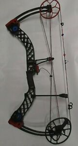 "Mathews Creed XS Limited Edition Crimson Red Compound Bow Package 26.5"" 50-60lb."