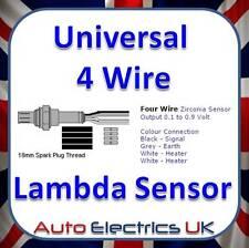 Capteur Lambda Universel 4 Fil O2 oem premium zircone avec des instructions
