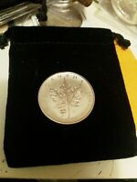 2016 Canadian $5 Silver Maple With 4 Leaf Clover Privy