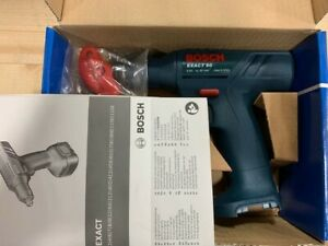 "Bosch Exact 60 Cordless Drill 1 - 5.5 nm 60 RPM Fixed Torque 1/4"" Keyless Chuck"