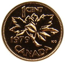 (p228) - Canada Canada - 1 cents 1979-sucre d'érable-Proof Like-KM # 59.2