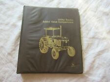 John Deere 2150 tractor manual comparison sheets with Case White Ford Kubota