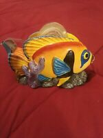 Vintage Multicolored 4.5 Inch Fish Tape Dispenser Pre-owned Office Desk Supplies