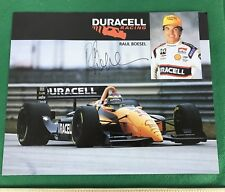 """Raul Boesel Signed Autographed Duracell Racing. 8"""" X 10"""""""