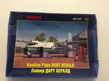 Handley Page Dart Herald, Maquette, scale 1/72 Rare and unique