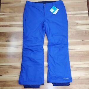 COLUMBIA BUGABOO Ski Snow Board Pants OMNI-TECH Waterproof Insulated Womens 1X