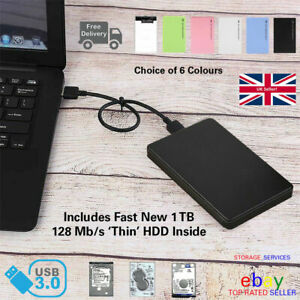 """2.5"""" External Hard Disk Drive USB 3.0 HDD Storage Devices For PC Laptop PS4 XBOX"""