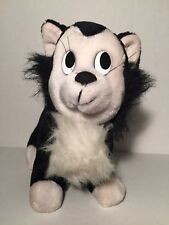 "Vintage Disneyland Walt Disney World Pinocchio Figaro Cat 8"" Plush"