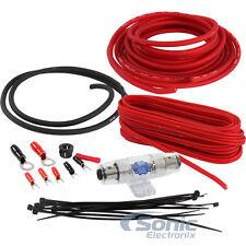 Belva BPK8 8 AWG Gauge Car Amplifier Power Wiring Install Kit w/ Speaker Cable