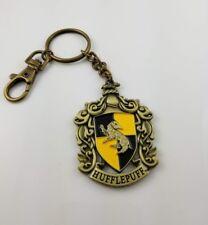 Harry Potter Hufflepuff House Crest Enamel Keychain (New No Card)