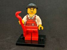 NEW RARE Lego Minifig ID CTY745 City Long Hair Female Bandit in Green