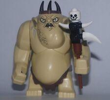 Lego El Hobbit Goblin King grandes Minifigura con club de Set 79010 Nuevo