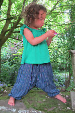 Childrens Harem Trousers Alibaba Hippie clothes Baby Aladdin boho Funky Pants