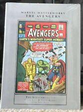 Marvel Masterworks Avengers Volume 1 Hardcover [*RARE* NEW SEALED]