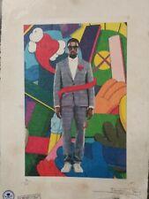 'Kanye West, KAWS' 22'x 15'x Artist Proof or Ltd Ed. Signed Fairchild Paris