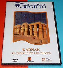 KARNAK EL TEMPLO DE LOS DIOSES / El antiguo Egipto /Precintada