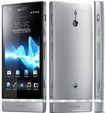 "Sony Xperia P LT22i 16GB Unlocked 3G GSM WIFI GPS 8MP 4.0"" Smartphone Silver"