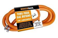 120CM. Tubo De Gas Butano Con Pinzas Para Paella Quemador botella de gas