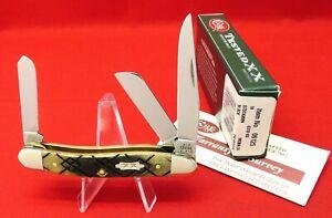 Case XX Black Diamond Bone, 2003 Mint Knife in Orig Box, 6318 SS Stockman #06125