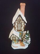 David Winter ~ Christmas-Time Clockhouse ~ Mib ~ Issued Christmas 1994 ~ Perfect