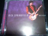 Rick Springfield The Very Best Of Greatest Hits (Australia) CD – Like New