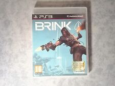 BRINK FPS SHOOTER ONLINE SONY PS3 PLAYSTATION 3 PAL ITALIANO COMPLETO COME NUOVO