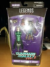 Marvel Legends ROCKET RACCOON & GROOT Guardians of the Galaxy 2 Mantlis BAF