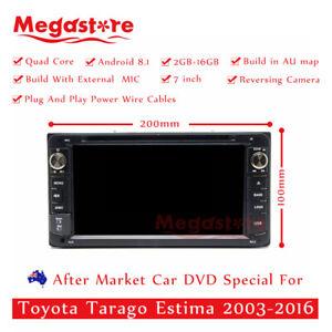 "7"" Android Car DVD GPS Player head unit For Toyota Tarago Estima 2003-2016 usb"
