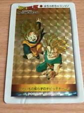 Carte Dragon Ball Z DBZ PP Card Part 24 #1036 Prisme (Version Soft) AMADA 1994