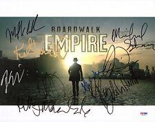 Kelly MacDonald Vincent Piazza Boardwalk Empire Cast Signed 11x14 Photo PSA/DNA