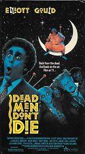Dead Men Don't Die (VHS) Rare OOP Elliot Gould