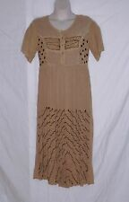 Vintage 90's M.P.H. Dress - Long - Boho – Lots of Embroidery – Size Large – Vgvc