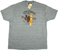 Levi Strauss 1853 Men's Gray Graphic T-Shirt Sz. 2XL