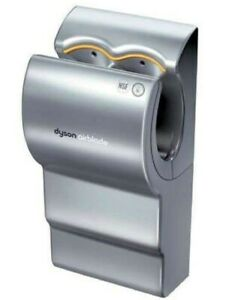 Dyson AirBlade Hand Dryer Silver Touch-Free 12-Second 400mph 110V HEPA NEW NIB