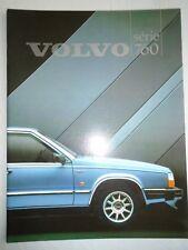 Volvo 760 Series range brochure 1984 French text