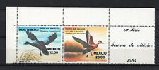 Birds on Stamps - Mexico 1984 Mexican Fauna