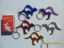 6 x KANGAROO KEYRINGS AUSTRALIA AUSTRALIAN KEY RING BOTTLE OPENER  SOUVENIR