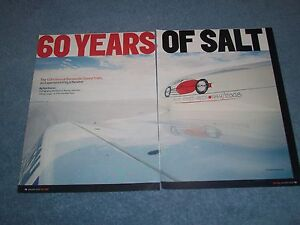 "2008 Bonneville Speed Trials Event Highlights Article ""60 Years of Salt"""