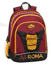 A.S. Roma 1927 Zaino Scuola Organizzato 32X43X23cm Prodotto Ufficiale 60391