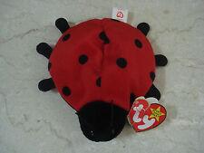 1995 TY Beanie Baby Lucky Ladybug Retired NEW w/Tags #040407 -  4/3 Generation