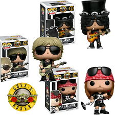 3 Set - Guns N' Roses Pop! Vinyl Slash Axl Rose Duff Mckagan Bundle 2017