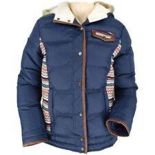 Cappotti e giacche da donna blu nylon